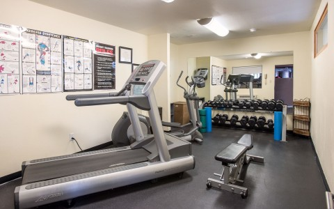 sage hotel fitness center