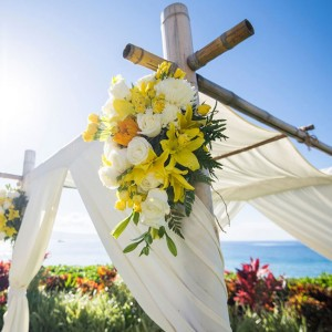 decorations for a wedding ceremony