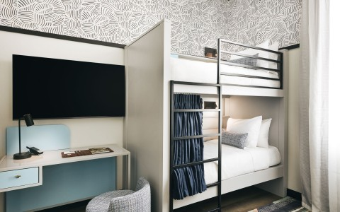 kinley bedroom with bunk beds
