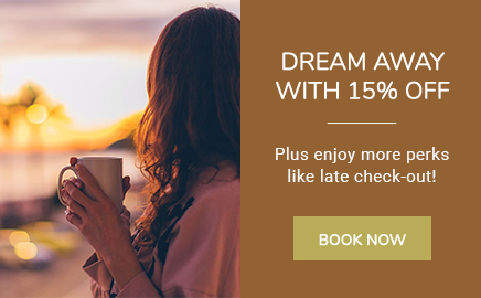 jamaica bay inn pop in dream away offer with woman drinking coffee