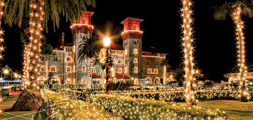 Nights of Lights event at the city of St. Augustine