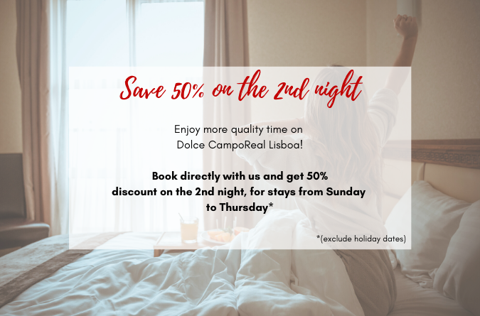 Save 50% on the 2nd night