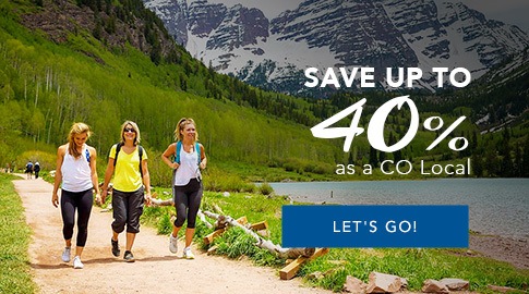 save 40% as a Colorado Local