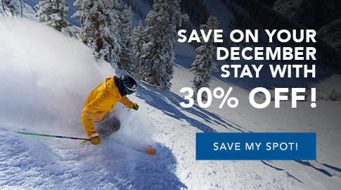 Save up to 30% on your December Stay