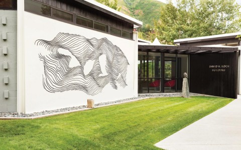 art - sgraffito mural