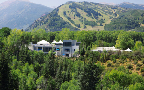 Set on 40 acres amid the beautiful Rocky Mountains
