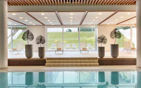 Indoor Pool Zwembad Piscine Wellness Dolce la Hulpe Brussels
