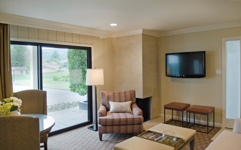 Watch the day pass you by, and take in views of Silverado's rolling hills from the comfort of your personal patio.