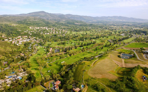 Mowed into Napa Valley's scenic hills, Silverado's golf courses are surrounded by unmatched views.