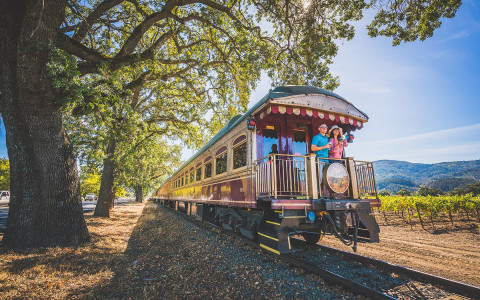 Survey Napa Valley — and some of its renowned sub-appellations — in style aboard the Wine Train.