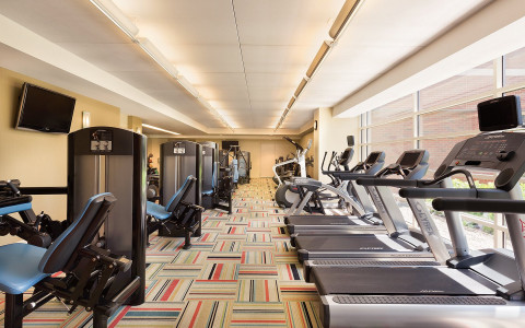 gym in hotel