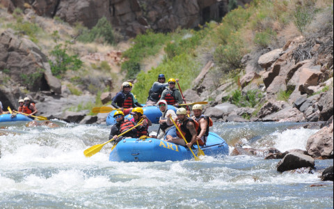 white water rafting arkansas river tours adventure travel series