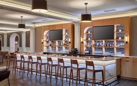 Renovated Lobby Bar and Lounge