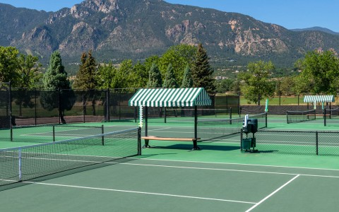 outdoor tennis courts 2 recreation