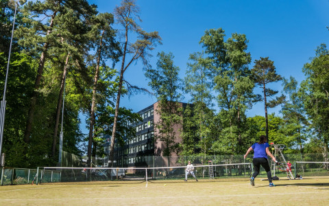 Tennis Sports Forest Nature Dolce la Hulpe Brussels