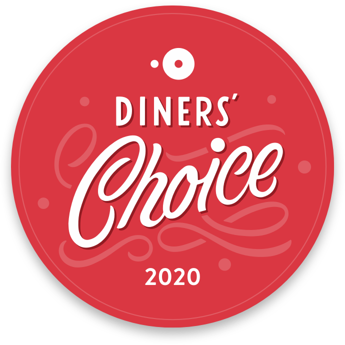 diners' choice awards badge