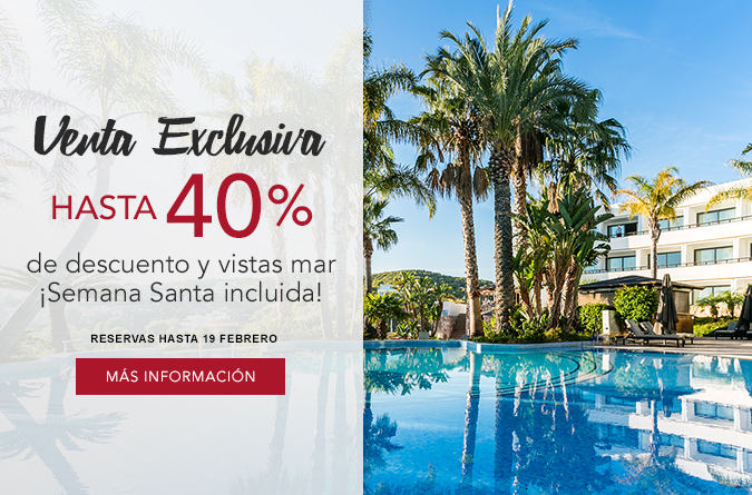 Venta Exclusiva Hasta 40%