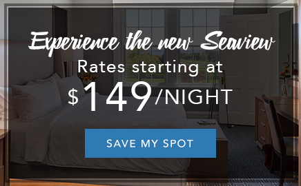 experience the new Seaview this summer