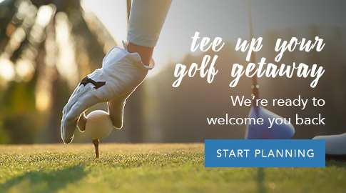 Our Golf Courses are open, schedule your tee time now