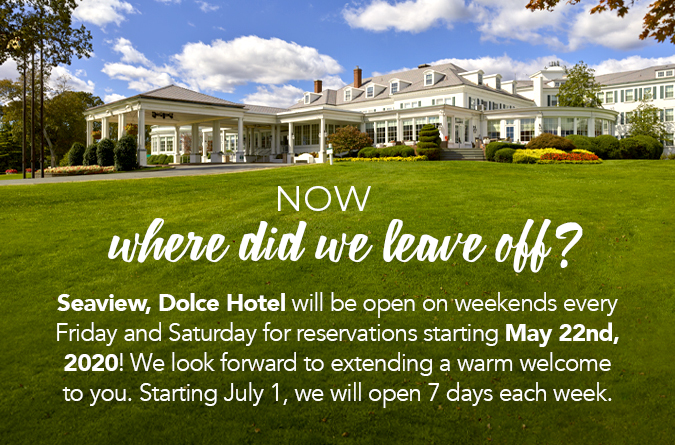 We are open! Start making reservations starting May 22nd for Friday and Saturdays