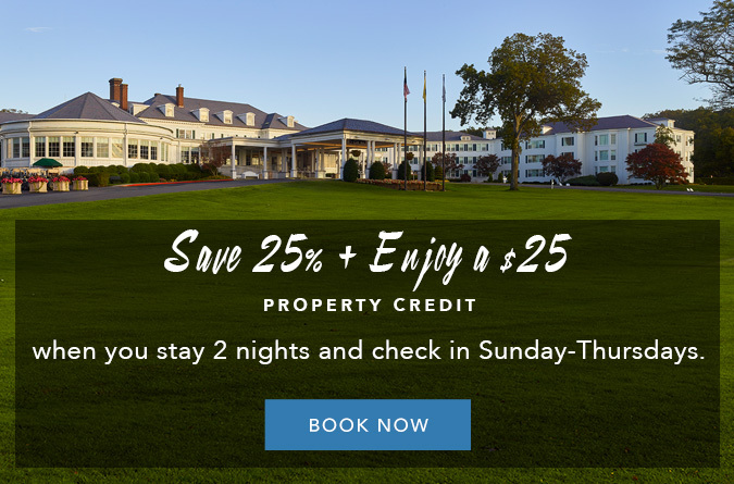 Save 25% & Enjoy a $25 Property Credit