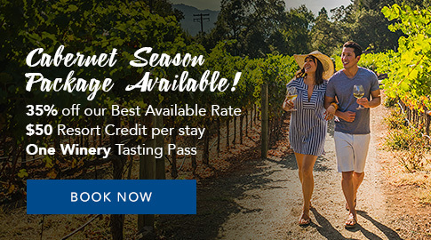 cabernet season package is available! Book Now