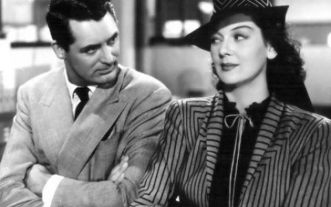 Cary Grant  Rosalind Russel in His Girl Friday