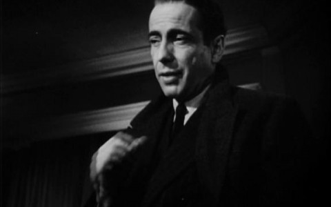 Sam Spade black and white image