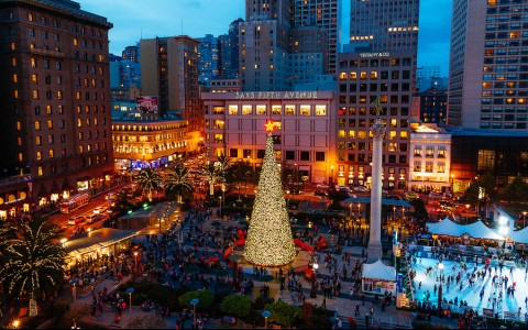 Union Square Christmas Tree