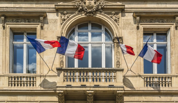 bastille day french flags