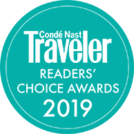 Condé Nast Traveler - Readers' Choice Awards 2019