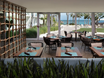 amara cay reelburger outdoor dining room