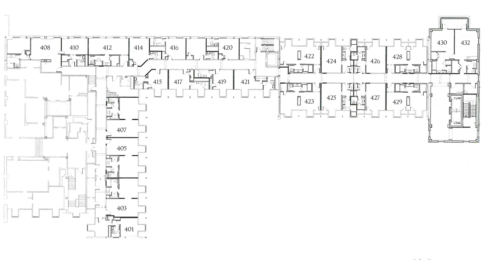 Atherton Floorplan 4th Floor