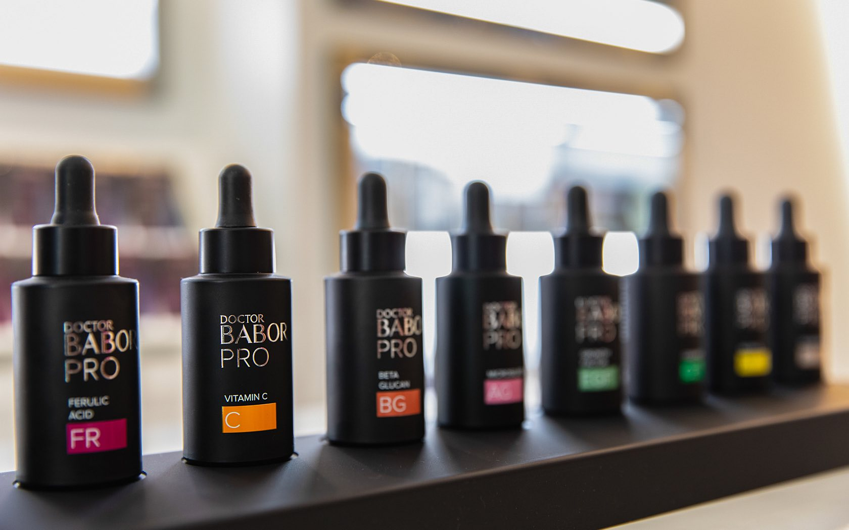 line of babor spa skin solution serums