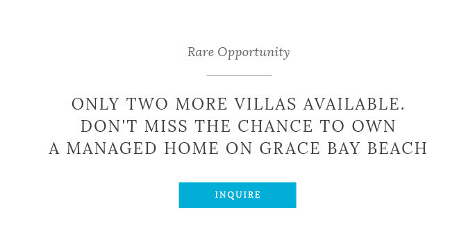 Only a Limited Number of Beachfront Villas Left