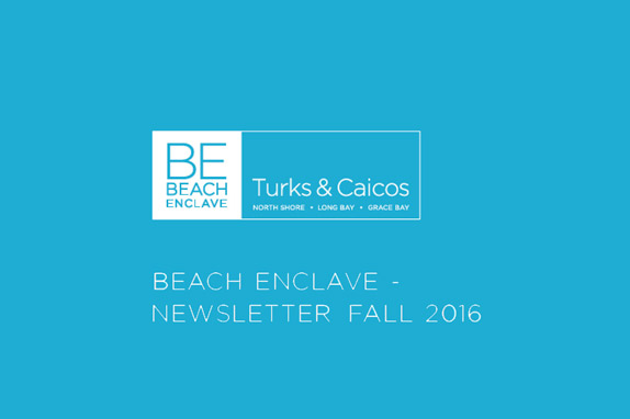 Beach Enclave Newsletter Fall 2016 Issue 1
