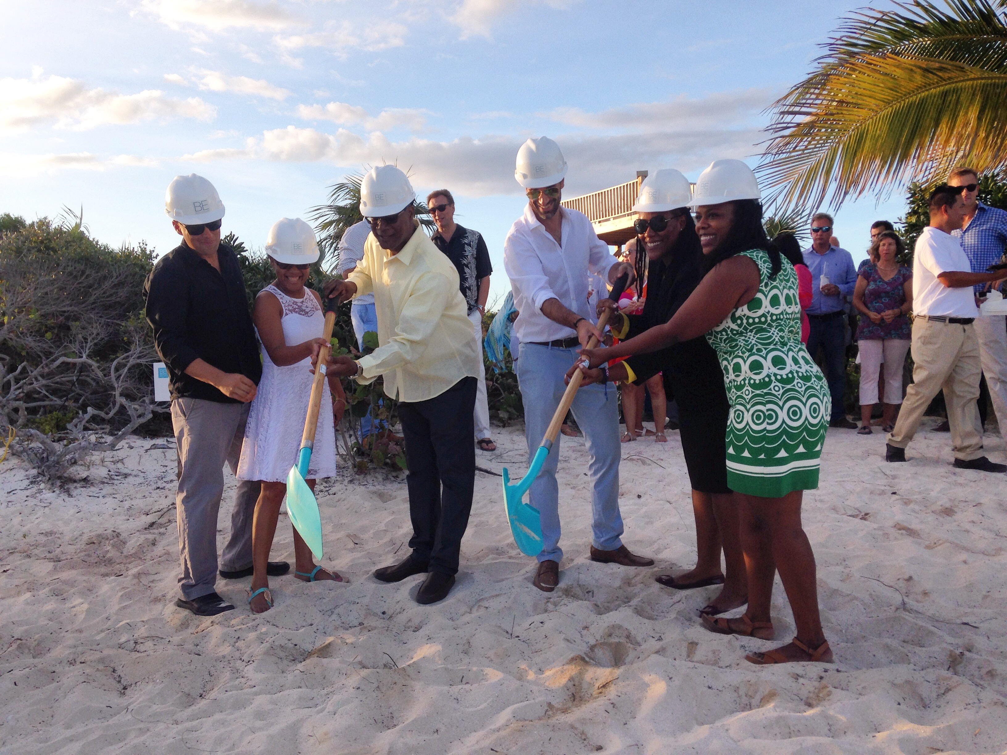 Beach Enclave Long Bay Groundbreaking Commences