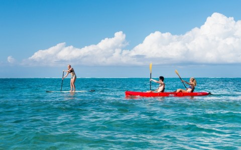 Watersports at Beach Enclave North Shore