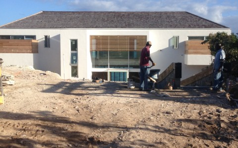 Luxury Beach Villas - February Construction Update