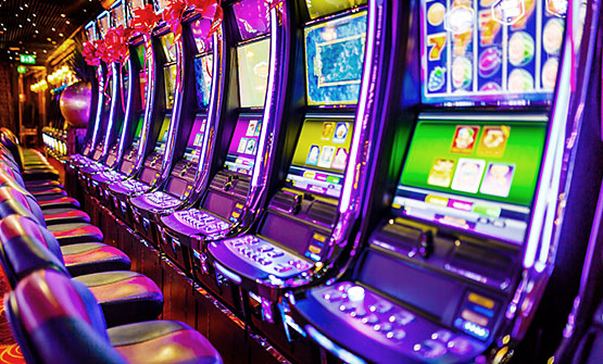 Roulette machines at Isle Casino