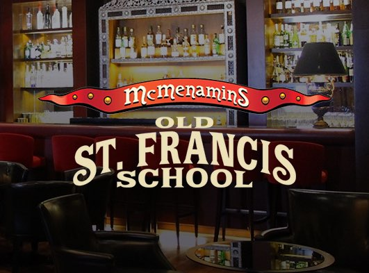 McMenamins Old St. Francis School Brewery