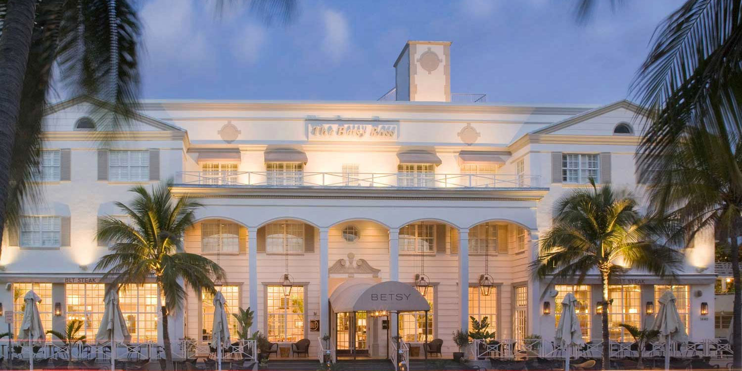 The betsy hotel south beach official miami beach hotel for Best small hotels in the world