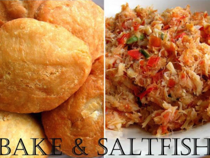 bake and saltfish