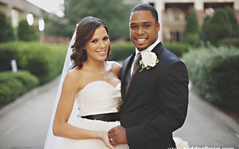 A Brown Wedding: Brooke & Tray