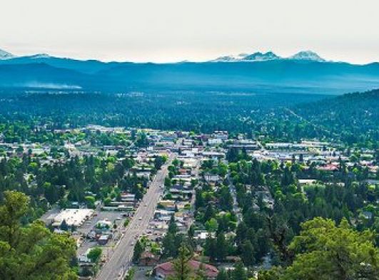 Downtown Bend Oregon