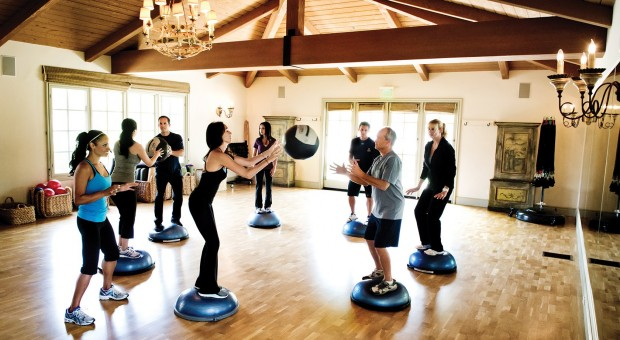 Engaging fitness classes