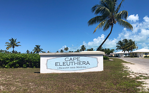 cape eleuthera sign