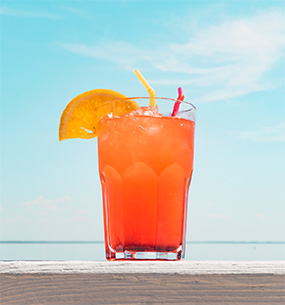 capeeleuthera landing page paradise spot drink