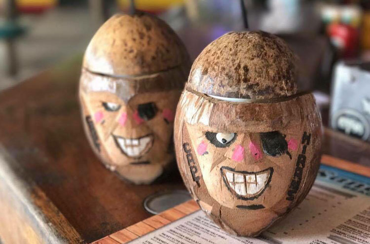crafted coconut pirates