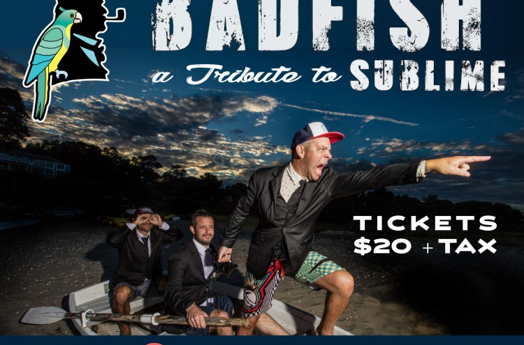 badfish band flyer